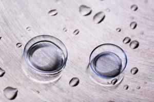 lentile de contact confortabile