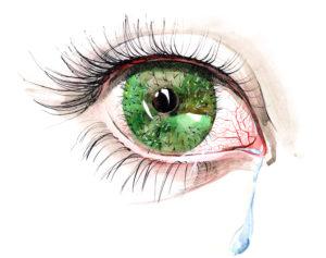 Ochi iritati