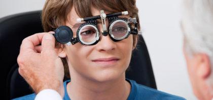Consultatii de oftalmologie pentru copii